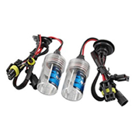 2 Pcs Car DC 12V 6000K 35W H8 Wired HID Xenon Headlight Bulbs