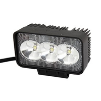 9W 3 LED Spot Beam Work Light Fog Driving Lamp Offroad ATV SUV Boat DC12 24V